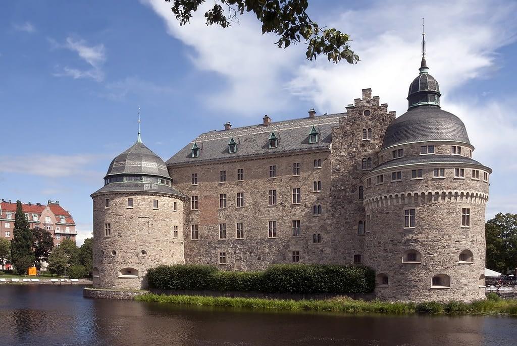 Utsikt över Örebro slott