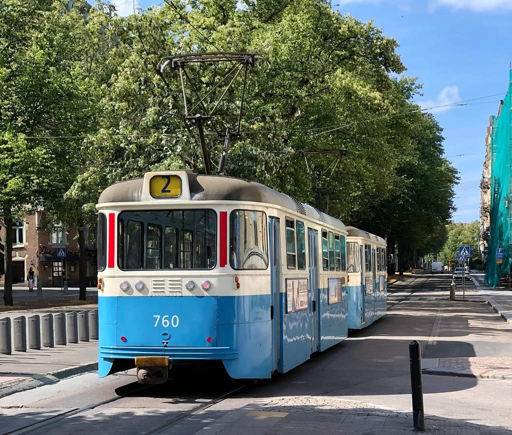 Spårvagnar, Liseberg och matkasse Göteborg.