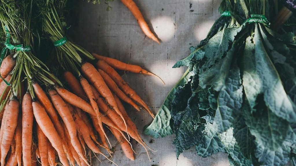 Exempel på mat i ekologisk matkasse